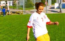 Iranka może trafić do aresztu, bo... grała w piłkę w koszulce Polski!