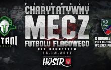Charytatywny mecz futbolu flagowego dla bohaterów