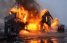 Tragiczny bilans pożarów i wichur w Wigilię