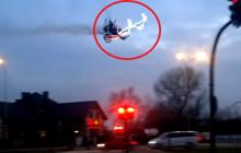 Święty Mikołaj latał nad Krakowem. Policja już rozpoczęła poszukiwania [WIDEO]