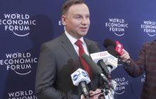 Andrzej Duda: Nie było żadnego udziału Polski, nie było żadnego udziału Polaków jako narodu w Holokauście