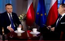 Prezydent Andrzej Duda udzielił wywiadu na antenie TVP Info. Mocna deklaracja ws. pretensji Izraela.
