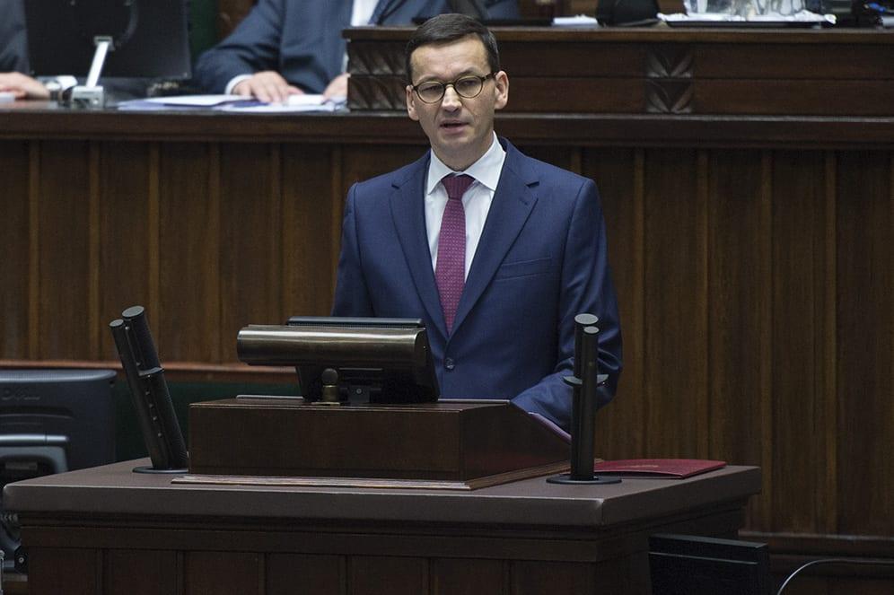 Podatki w Polsce są za wysokie? Mateusz Morawiecki ma inne zdanie
