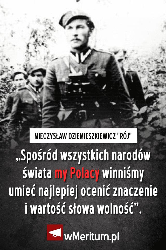 """Mieczysław Dziemieszkiewicz ps. """"Rój"""""""