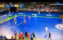ME w futsalu: Polacy zremisowali z Rosją! Wyrównali w ostatniej minucie meczu. Komentator oszalał! [WIDEO]