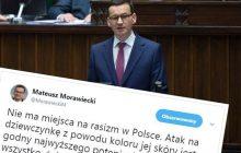 W Warszawie napadnięto ciemnoskórą dziewczynę. Jest reakcja premiera Morawieckiego i ministra Błaszczaka!
