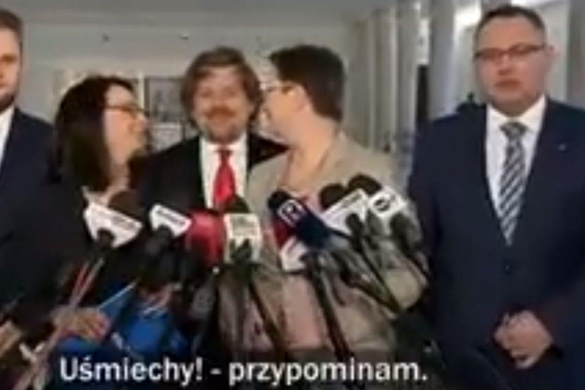 TVP publikuje materiał nagrany chwilę przed spotkaniem polityków Nowoczesnej z dziennikarzami.