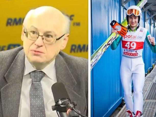 Europoseł PiS w radiu RMF FM: Żałuję, że Kamil Stoch nie wszedł do rządu.