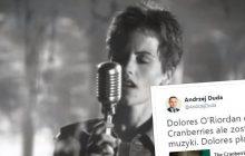 Andrzej Duda poruszony śmiercią Dolores O'Riordan. Wzruszający wpis prezydenta