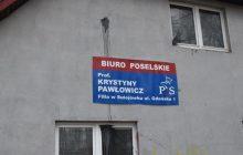 Zaatakowali biuro Krystyny Pawłowicz. Posłanka ich wykpiła