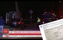 Nowe fakty na temat wypadku limuzyny Beaty Szydło. Polityk ujawnia pismo od szefa BOR!