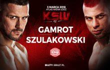 Grzegorz Szulakowski stanie naprzeciw Mateusza Gamrota na KSW 42