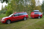 Volkswagen Passat z nietypową przyczepą stał się hitem internetu. Sprzedawca ujawnia, jak powstała [FOTO]