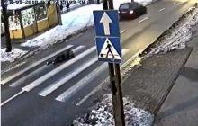 Bydgoszcz: Potrącił 14-latkę na pasach i uciekł. Po publikacji nagrania, zgłosił się na policję [WIDEO]
