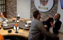 Dziennikarze pobili się w rosyjskim radiu. Poszło o Stalina [WIDEO]
