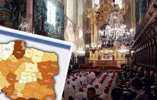 Coraz mniej Polaków uczestniczy w niedzielnych mszach. Kościół opublikował szczegółowe statystyki