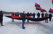 Uroczystości w Hucie Pieniackiej zakłócone przez ukraińskich nacjonalistów