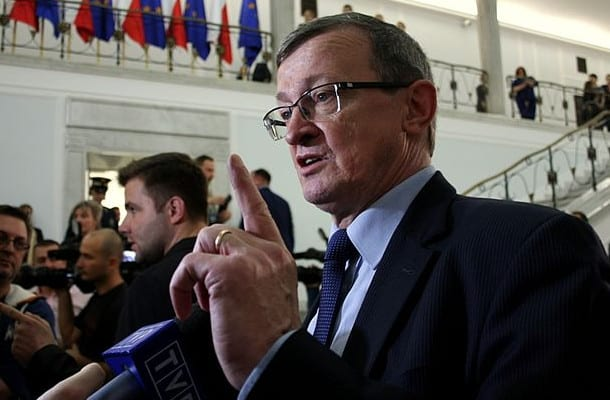 Tadeusz Cymański chce wyższych podatków dla najbogatszych.