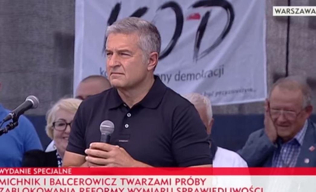 Władysław Frasyniuk zwolniony z prokuratury. Były działacz
