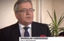 Bronisław Komorowski nie zostawił suchej nitki na Mateuszu Morawieckim.