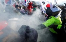 Zamieszki w Pjongczang tuż przed ceremonią otwarcia Igrzysk Olimpijskich! Żądają bombardowania Korei Północnej