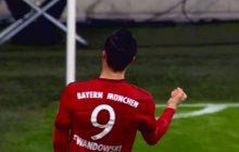 Bayern gromi Besiktas w Lidze Mistrzów. Lewandowski bawi się i strzela gole. Po jednym z nich zaczął się śmiać [WIDEO]