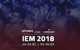Lioncast i Optimus podgrzewają emocje przed IEM