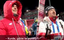 TVP publikuje nieoficjalne nagrania z konkursu skoków w Pjongczangu. Małysz i Żyła liczą punkty, a komentatorzy szaleją. To trzeba zobaczyć! [WIDEO]