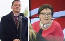 Dominik Tarczyński zamieścił nagranie, na którym premier Morawiecki idzie ramię w ramię z Merkel.