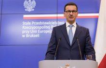 Są wyniki sondażu pokazującego poparcie dla rządu Mateusza Morawieckiego. Przeprowadzono go po wybuchu sporu na linii Polska-Izrael