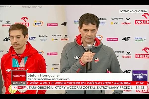 Trener Horngacher skomentował udział Piotra Żyły w Igrzyskach. Zdradził też, co z przedłużeniem kontraktu!
