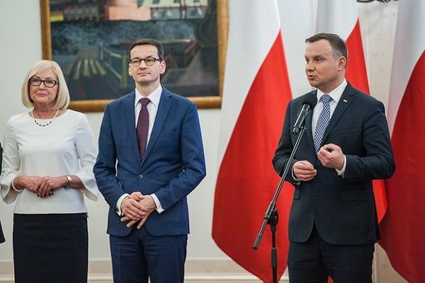 Sondaż prezydencki: Andrzej Duda przed Donaldem Tuskiem