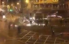 Dantejskie sceny w Bilbao. Starli się kibice Athleticu i Spartaka Moskwa. Nie żyje policjant [WIDEO]