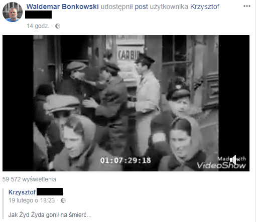 facebook.com/waldemar.bonkowski screen