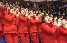 Cheerleaderki z Korei Północnej zrobiły prawdziwą furorę na Igrzyska Olimpijskich! To nagranie udostępniają już miliony internautów [WIDEO]