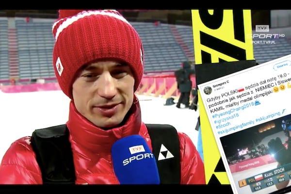 Medal olimpijski odebrał Stochowi... polski sędzia! Wyżej punktowali Niemiec i Słoweniec