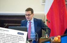 Rafał Trzaskowski uderza w premiera Morawieckiego.