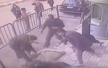 Policjant złapał 5-letniego chłopca, który... spadł z trzeciego piętra! Został bohaterem [WIDEO]