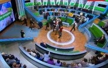 Wielka bijatyka w rosyjskiej telewizji. Poszło o Donbas i Krym [WIDEO]
