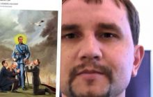 Wśród ukraińskich internautów krąży kontrowersyjny obrazek. Duda, Morawiecki i Kaczyński... klęczą przed szefem tamtejszego IPN-u [FOTO]