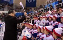 Pjongczang: Cheerleaderki z Korei Północnej odwiedził na trybunach Kim Dzong Un. Okazało się, że to przebieraniec [WIDEO]