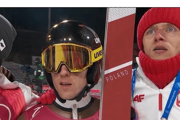 Borek Sedlak o konkursie olimpijskim na normalnej skoczni.
