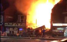 Silna eksplozja w Leicester. Wybuch nastąpił w budynku, w którym mieścił się polski sklep [WIDEO]
