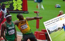Usain Bolt rozpoczyna... karierę piłkarską!