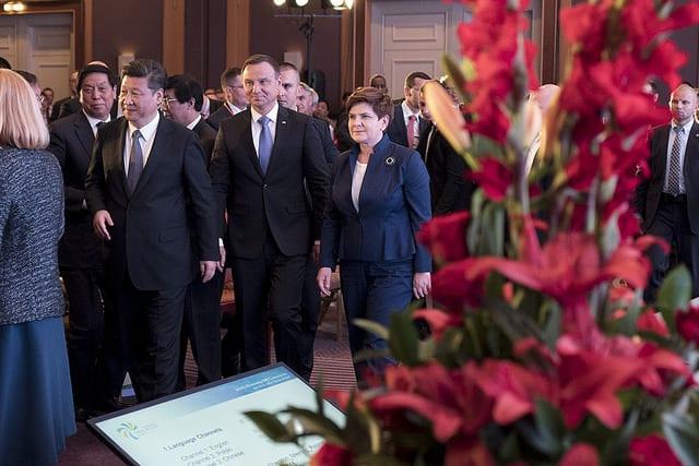 flickr.com/ P. Tracz / KPRM - Wizyta prezydenta Chińskiej Republiki Ludowej w Polsce (2016 r.)