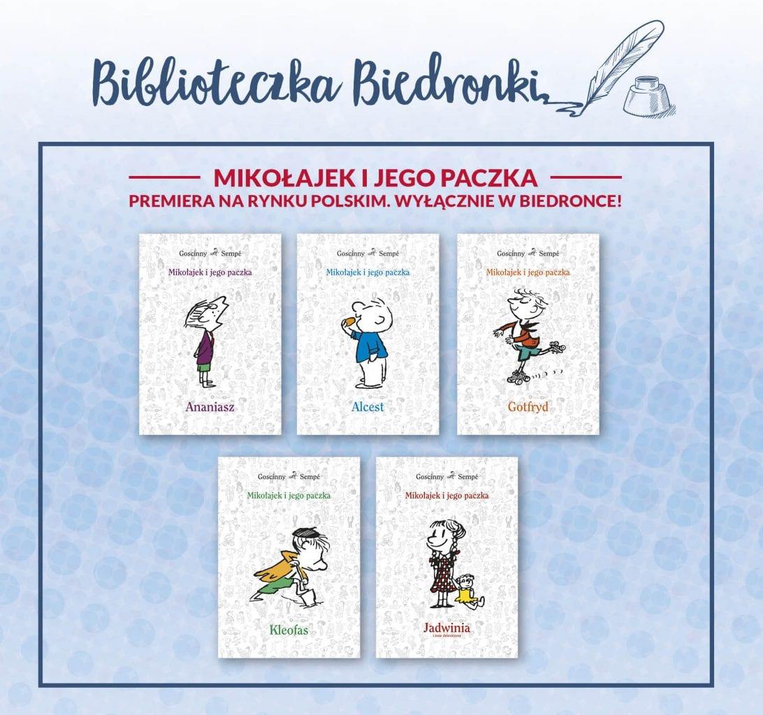 biblioteczka-biedronki_mikolajek-i-jego-paczka