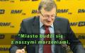 Tadeusz Cymański śpiewa piosenkę Kukiza na antenie RMF FM [WIDEO]