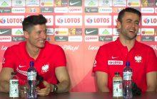 Zabawna sytuacja podczas konferencji prasowej. Lewandowski nie wytrzymał po pytaniu od dziennikarza [WIDEO]