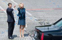 Skandal podczas wizyty Brigitte Macron w szkole średniej. Uczniowie drwili z pierwszej damy.