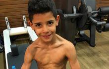 Syn Cristiano Ronaldo upodabnia się do ojca. Zawodnik Realu opublikował jego zdjęcie z siłowni